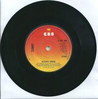"""SUNNY - DOCTOR'S ORDERS - 7"""" VINYL 1974 CBS"""