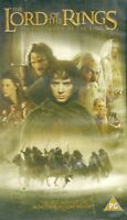 LORD OF THE RINGS - THE FELLOWSHIP OF THE RING - PG CERT - VHS VIDEO