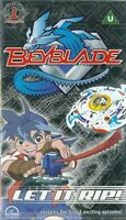 BEYBLADE - LET IT RIP - VHS VIDEO