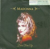 "MADONNA - DRESS YOU UP - 7"" VINYL PICTURE SLEEVE 1985 SIRE"