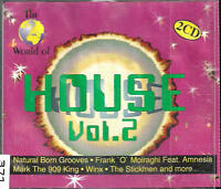 THE WORLD OF HOUSE VOL.2 CD INKL. EXTRA TRACKS 2 CD