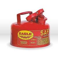 New Eagle UI20S Galvanized Steel Type-1 Safety Gas Can, 2 gallon, RED