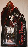 "Grim Reaper Hades Fixed Blade Broadhead 3-pack 125gr 1 3/16"" Cut FAST SHIP! 2213"