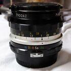 Nikon Nikkor-H Auto 28mm F3.5 non AI Ghiera Nera- Splendido D300 D700 D800 D3 D4