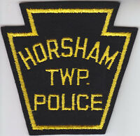 Horsham Twp (township) PA Pennsylvania Police FELT patch cheesecloth back/old
