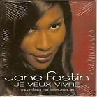 "JANE FOSTIN CD SINGLE ""JE VEUX VIVRE"""