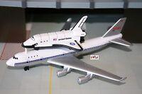 NASA Space Shuttle Atlantis w/ Piggyback Boeing 747 Diecast 1/500 Scale MINT