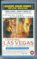 LEAVING LAS VEGAS - NICHOLAS CAGE -  VHS VIDEO PAL