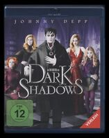 BLU-RAY DARK SHADOWS - JOHNNY DEPP + HELENA BONHAM CARTER (TIM BURTON) ** NEU **
