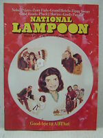March 1975 NATIONAL LAMPOON Humor Magazine- Good-Bye to All That