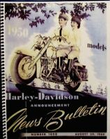 1950  Harley-Davidson Counter catalogue  for Dealers