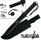 Jungle Master Tactical Survival Knife With Kit & Sheath #5697B