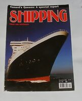 SHIPPING TODAY AND YESTERDAY DECEMBER 2003 - CUNARD'S QUEENS: A SPECIAL REPORT