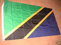 TANZANIA TANZANIAN FLAG FLAGS 5'X3' BRAND NEW