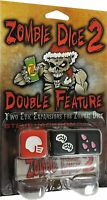 Zombie Dice 2 Double Feature Game - Steve Jackson Games - Eat Brains SJG 131324