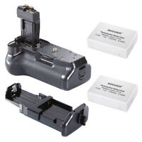 Pro Battery Grip for Canon EOS 550D/600D/650D Rebel T2i/T3i/T4i+Battery f LP-E8