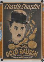GOLDRAUSCH / THE GOLD RUSH (A2-Filmplakat / Kinoplakat. '47) - CHARLIE CHAPLIN