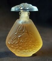 "LALIQUE Miniature Perfume Bottle (full) 1995 Limited Edition ""Jasmine"" Mini"