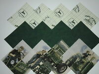 "40 John Deer 4"" Fabric Quilting Squares"