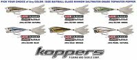Koppers Live Target BaitBall Glass Minnow Saltwater Topwater Popper Any GBP Lure