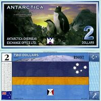 Antarctica, $2, 11-28-1999, UNC   Tragedy of 901