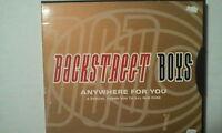 CD-- BACKSTREET BOYS -- ANYWHERE FOR YOU --