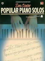 DAN COATES POPULAR PIANO SOLOS - LATE INTERMEDIATE PIANO BOOK!