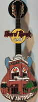 Hard Rock Cafe SAN ANTONIO 2004 FACADE GUITAR Series PIN - HRC Catalog #25713