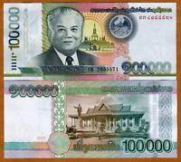 Lao / Laos, 100000 (100,000) Kip, 2011, P-42, UNC