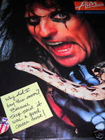 ALICE COOPER Why Did I Buy This? 1989 PROMO POSTER AD