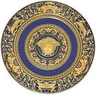 Rosenthal Versace Medusa Blue 8 PIECES Service Plate Charger 12
