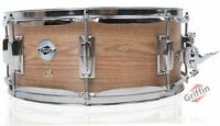 Snare Drum by Griffin – Oak Wood 14x5.5 Poplar Shell Percussion Kit Set Key 14""