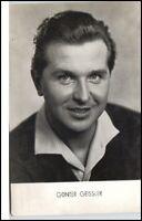 DDR Porträt GÜNTER GEISSLER Postkarte ~1960 VEB Bild und Heimat Reichenbach