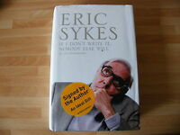 ERIC SYKES HAND SIGNED RARE AUTOGRAPH AUTOBIOGRAPHY BOOK THE GOONS HARRY POTTER