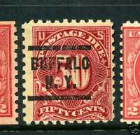 Scott #J58 Perf 10 Postage Due Used Stamp (Stock #J58-10)