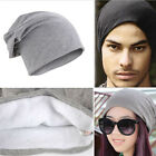 Knitted Women men Knit Hat Winter Skateboard Ski Crochet Slouch Cap Baggy Beanie
