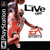 NBA Live 98  (PlayStation 1, 1997) Rated K-A for Kids to Adults