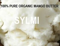 100%PURE ORGANIC RAW MANGO BUTTER FRESH NATURAL COLD PRESSED 1 2 4 8 16 55 oz Lb