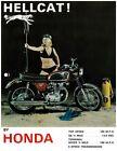 HONDA Brochure CB450 K1 CB-450 CB450-K1 Hellcat 1968 1969 Sales Catalog REPRO