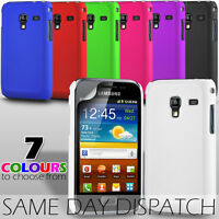 HARD BACK SKIN CASE COVER & SCREEN GUARD FOR SAMSUNG GALAXY ACE PLUS S7500