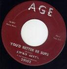 Mod R&B soul Ricky Allen AGE 29102 (( LISTEN )) You'd better be sure