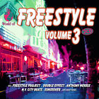 CD Freestyle Volume 3 de Various Artists 2CDs