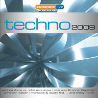 CD Techno Volume 2 von Various Artists 2CDs