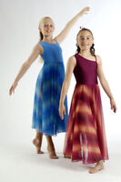 IN STOCK Elegant Blue Lyrical Dress Dance Costume CL 3a