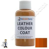TAN Leather Colour Coat Dye for HONDA. Repair & Restore Colourant Kit