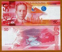 Philippines, 50 Piso, 2010 (2011), Pick 207, UNC