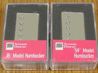 NEW Seymour Duncan SH-4 JB & SH-1n 59 Nickel Humbucker PICKUP SET Pickups Guitar