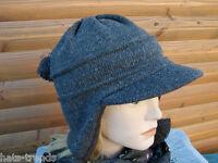 Damenmütze Strickmütze in McBurn Qualität Grau Mütze Winter warm Wintermütze