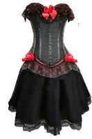 Corsage Kleid Mini Rock Petticoat Bustier sexy  35c