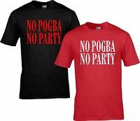 POGBA UNITED T SHIRT  small to 5XL D
